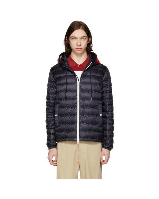 Moncler - Blue Navy Down Ceze Jacket for Men - Lyst