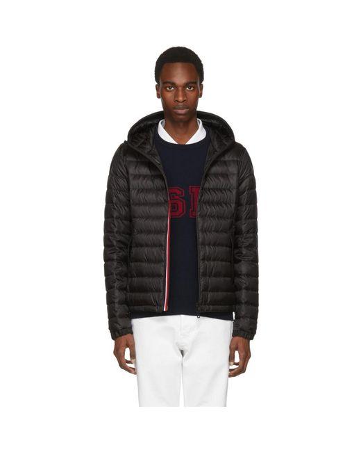 Moncler - Black Down Morvan Jacket for Men - Lyst