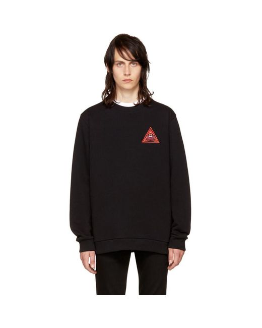Givenchy - Black 'real Eyes' Sweatshirt for Men - Lyst