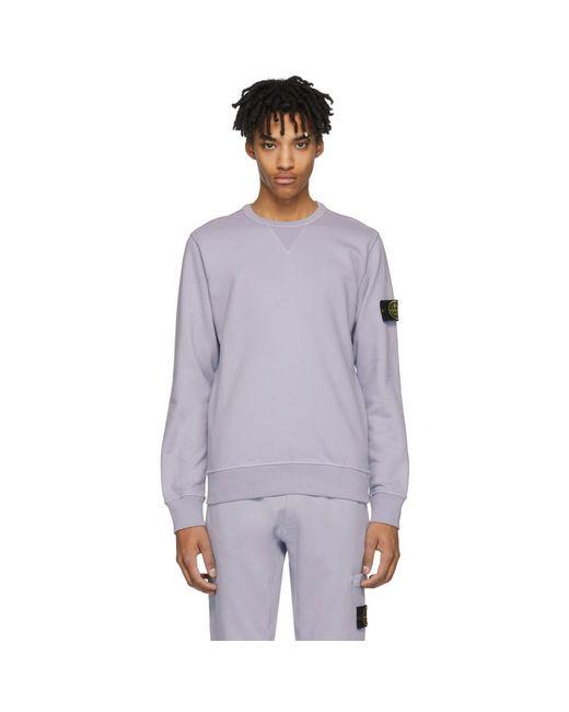 Stone Island - Purple Pocket Sweatpants for Men - Lyst