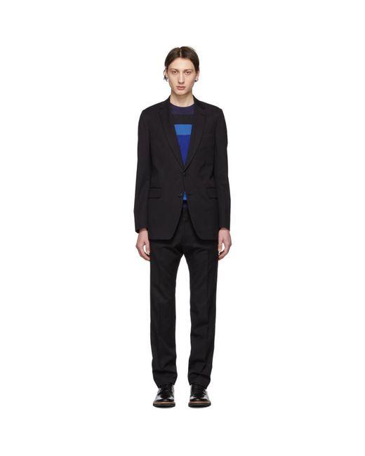 Dries Van Noten - Black Slim Kline Suit for Men - Lyst