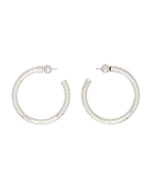 Sophie Buhai - Metallic Silver Medium Everyday Hoop Earrings - Lyst