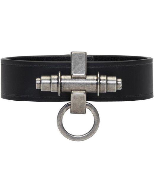 Givenchy   Black Simple Obsedia Bracelet for Men   Lyst