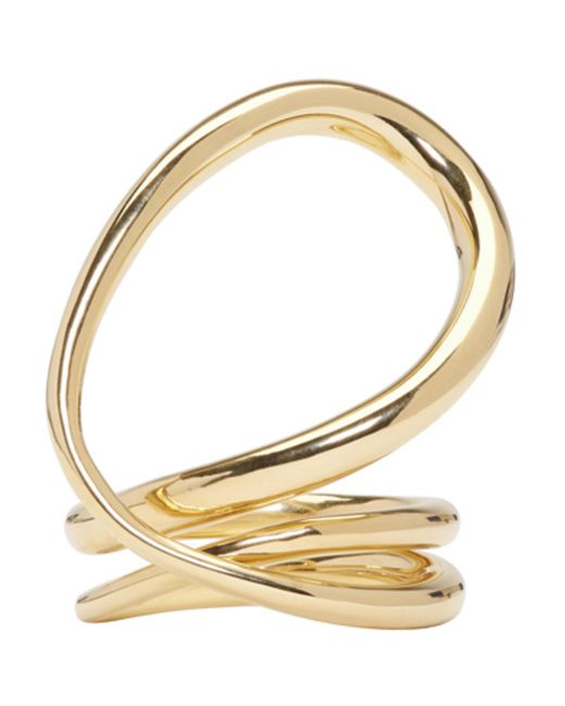 Charlotte Chesnais | Metallic Gold Round Trip Ring | Lyst