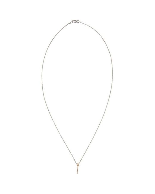 Pearls Before Swine   Pink Rose Gold Mini Thorn Pendant   Lyst