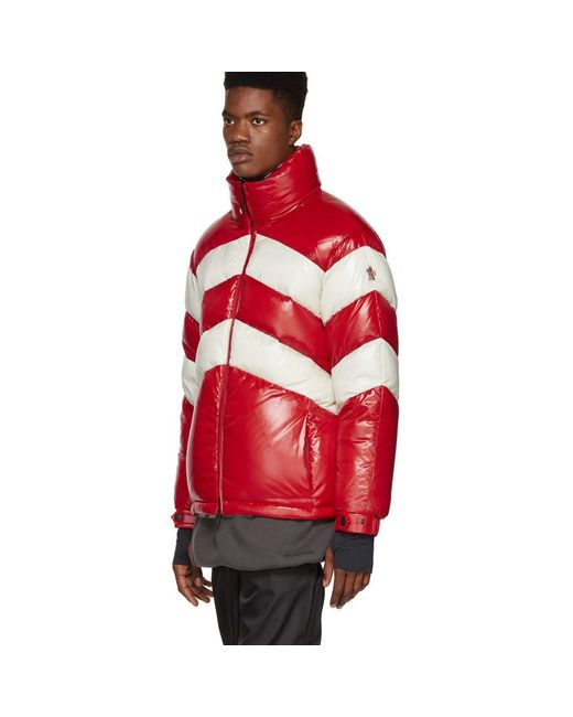 0b2ed0382bc5 Lyst - Moncler Grenoble Golzern Down Jacket in Red for Men - Save 23%