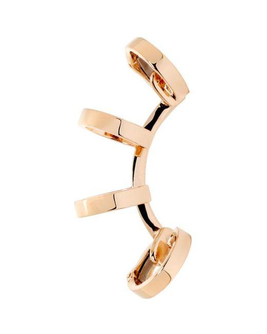 Repossi   Multicolor Rose Gold Multi Band Berbere Ear Cuff   Lyst