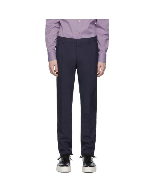 Paul Smith - Blue ネイビー Gents トラウザーズ for Men - Lyst