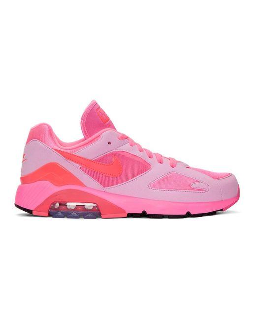 nike air max 180 felt and mesh sneakers