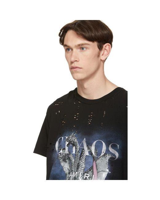 65e26fbb Amiri Black City Dragon T-shirt in Black for Men - Save 8% - Lyst