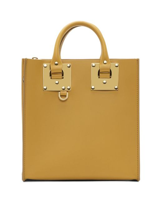 Sophie Hulme - Yellow Square Albion Tote - Lyst