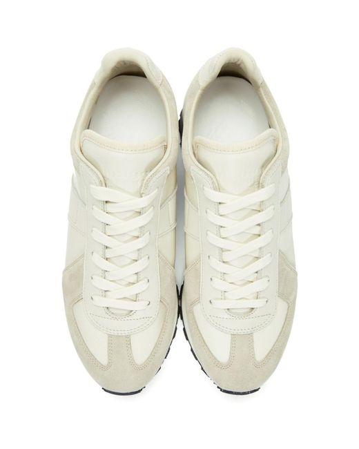 designer fashion 61d5e 88d2d maison-martin-margiela-white-Off-white-Runner-Sneakers.jpeg