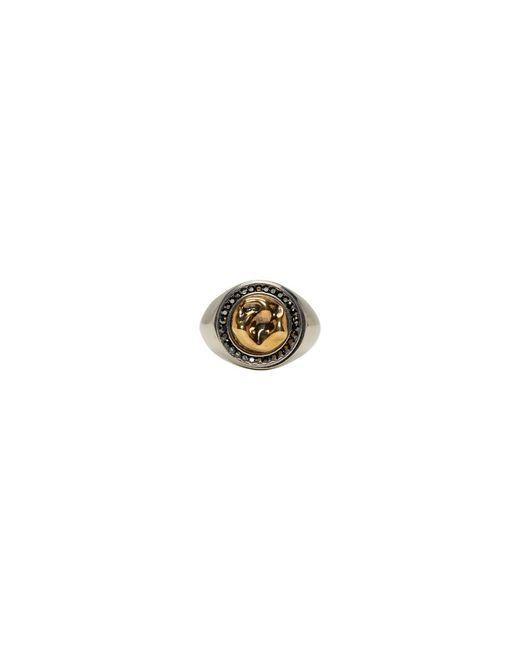Alexander McQueen - Metallic Gold Tooth Ring for Men - Lyst
