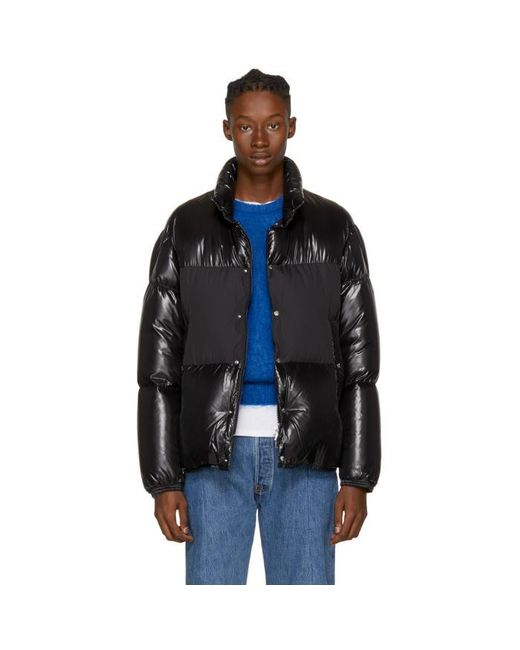 Moncler | Black Down Aynard Jacket for Men | Lyst