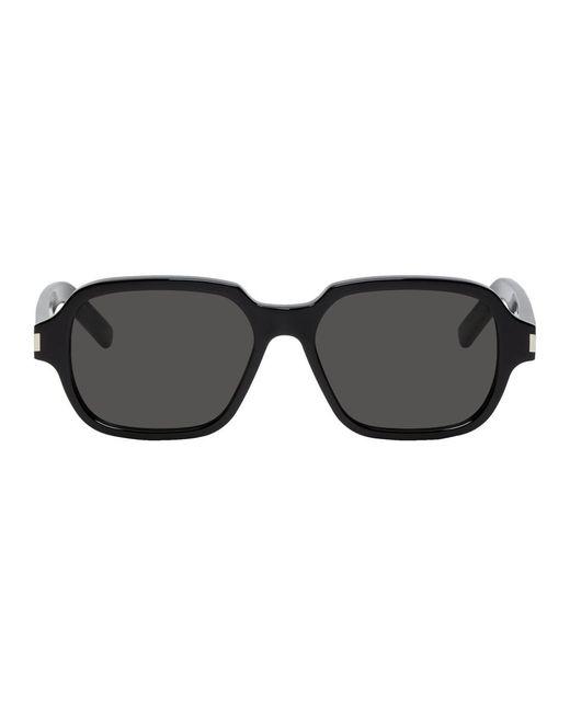 453dfef36f9 Saint Laurent - Multicolor Black Sl 292 Sunglasses for Men - Lyst ...