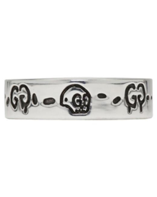 Gucci | Metallic Silver Ghost Ring | Lyst