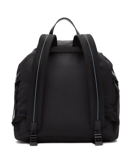 e83a5ac7949a ... Prada - Black Mirage Backpack - Lyst ...