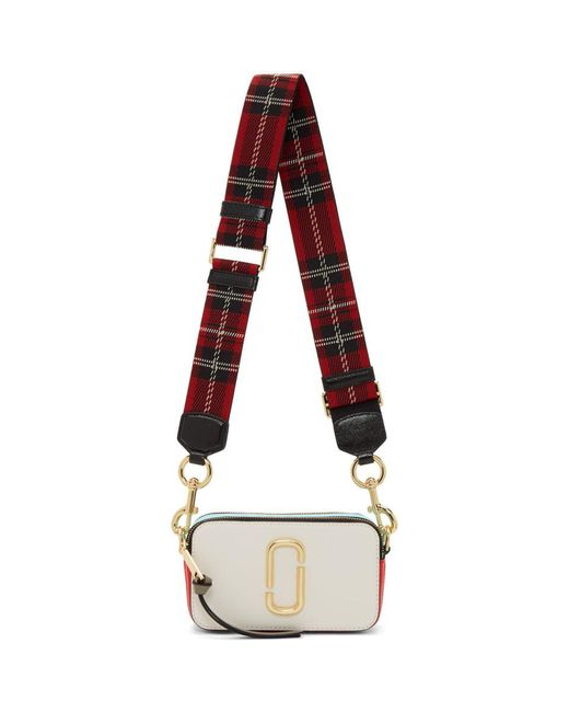 et Jacobs Sac Marc blanc Snapshot rouge Red Lyst wIqnfzF71