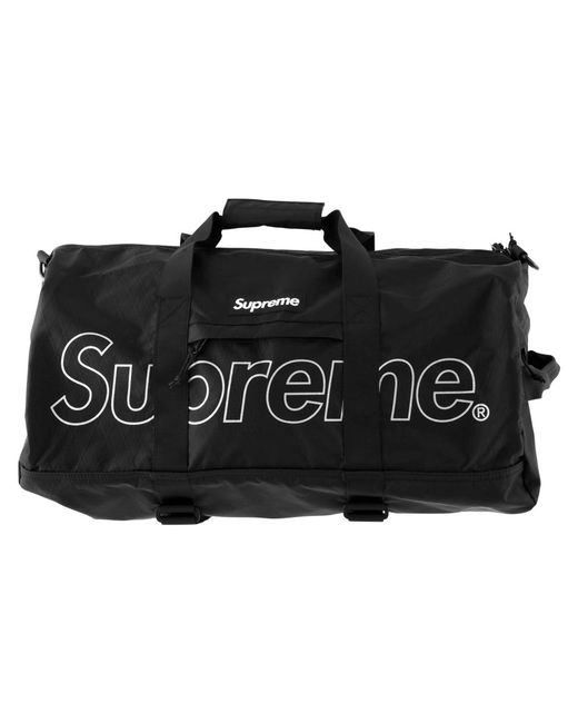 bcd0d93ec7a1 Lyst - Supreme Duffle Bag in Black for Men