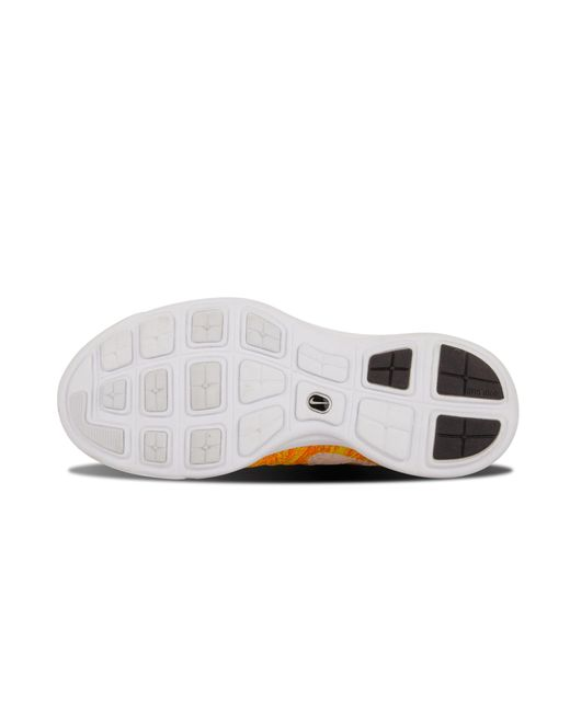 reputable site 24aec 52337 ... Nike - Yellow Womens Flyknit Trainer - Lyst