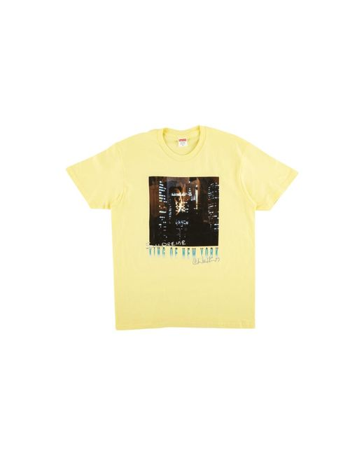 ef9d33d9e633 Lyst - Supreme King Of New York Tee in Yellow for Men