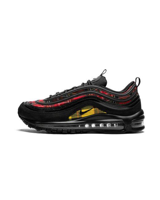 8bf046239e Nike Womens Air Max 97 Se Tartan - Size 6w in Black for Men - Lyst