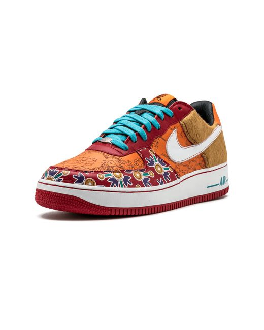 Nike Air Force 1 Low Premium in Red for Men Lyst