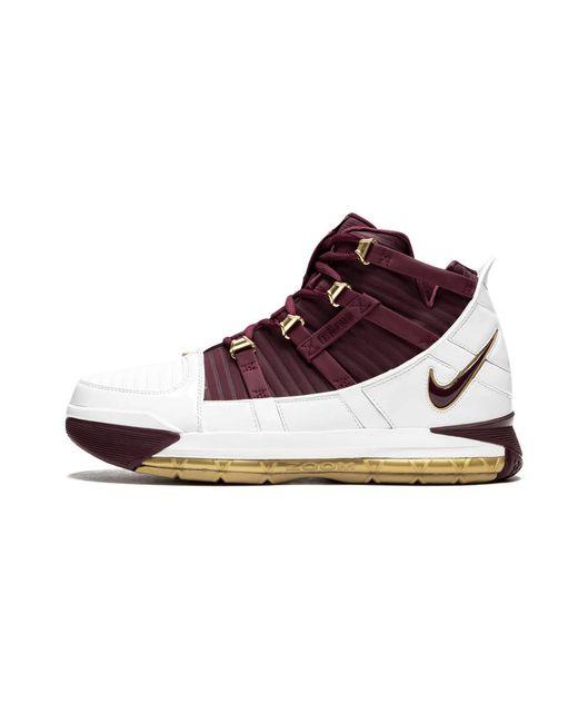 wholesale dealer 75dd0 dc057 Nike - White Zoom Lebron 3 Ctk Qs  christ The King  - Size 7