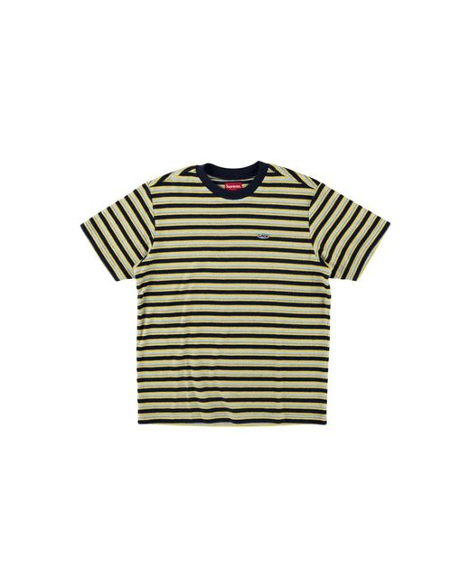 3133b914a33a Lyst - Supreme Multi Stripe Terry Tee in Blue for Men - Save 52%