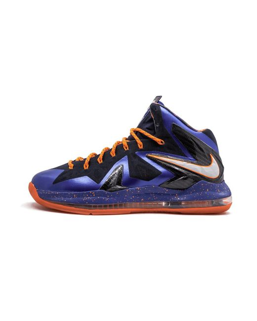 separation shoes f7d07 da0e6 Nike - Blue Lebron 10 P.s Elite for Men - Lyst