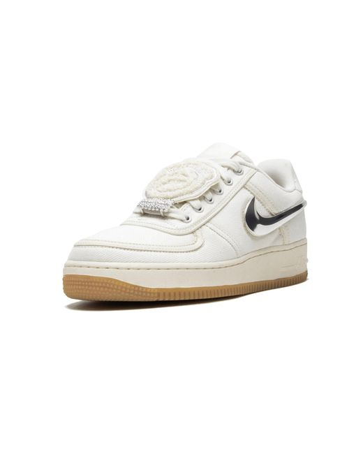 d24bc0f2875706 ... Nike - White X Travis Scott Air Force Low 1 Sneakers for Men - Lyst ...
