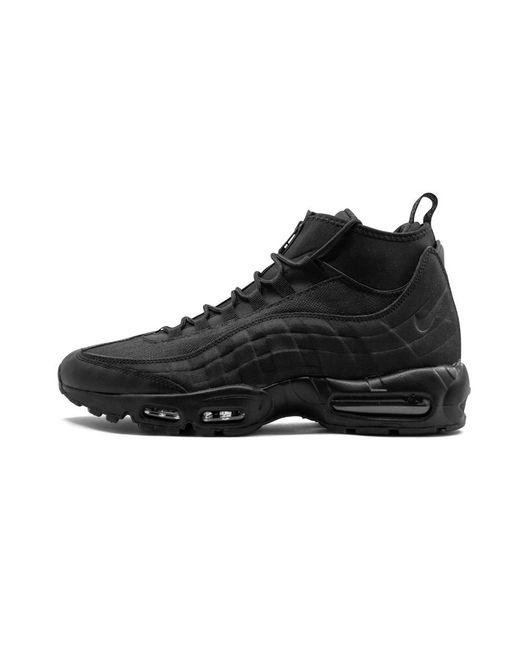 0ebf81002f Nike Air Max 95 Sneakerboot in Black for Men - Save 15% - Lyst