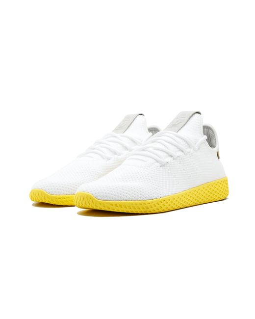 6074d6657884d7 adidas Pharrell Williams Tennis Hu in White for Men - Save 5% - Lyst