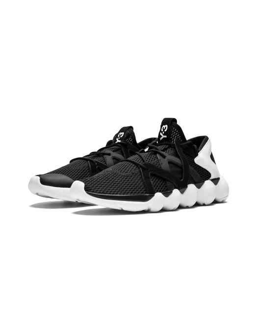 03560f8367408 ... Adidas - Black Y-3 Kyujo Low for Men - Lyst ...