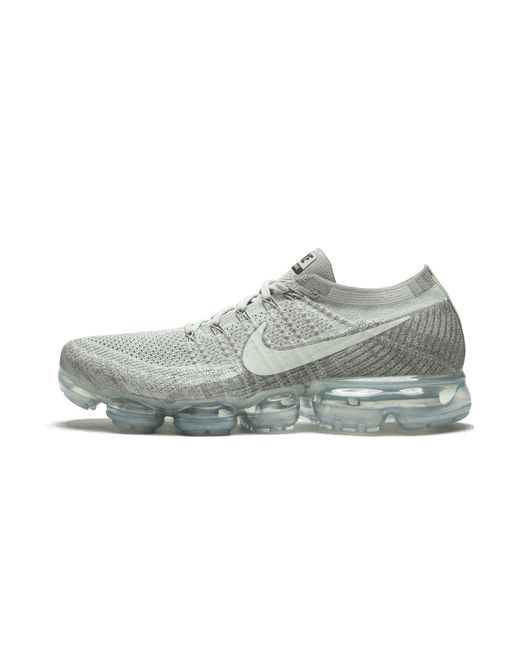 5d38c6dbead91 Nike Vapormax Flyknit in Gray for Men - Save 10% - Lyst