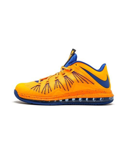 the latest 1103d 44f60 Nike - Multicolor Air Max Lebron 10 Low Bright Citrus hyper Blue for Men -