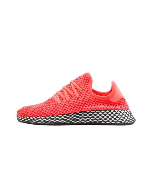 best website e31f9 7b9e8 Adidas - Red Deerupt Runner for Men - Lyst ...