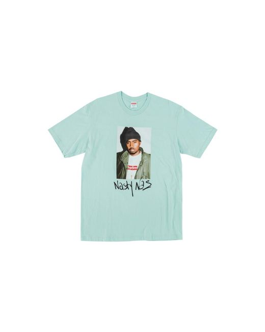 d6091eeec Supreme Nasty Nas T-shirt in Blue for Men - Save 15% - Lyst