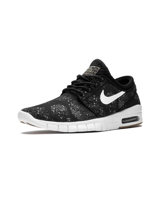 low cost b1a2d f6219 ... Nike - Black Stefan Janoski Max Prm Sneakers for Men - Lyst ...