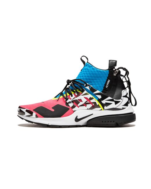 50ffcca8cea077 Nike Air Presto Mid   Acronym in Blue for Men - Save 13% - Lyst