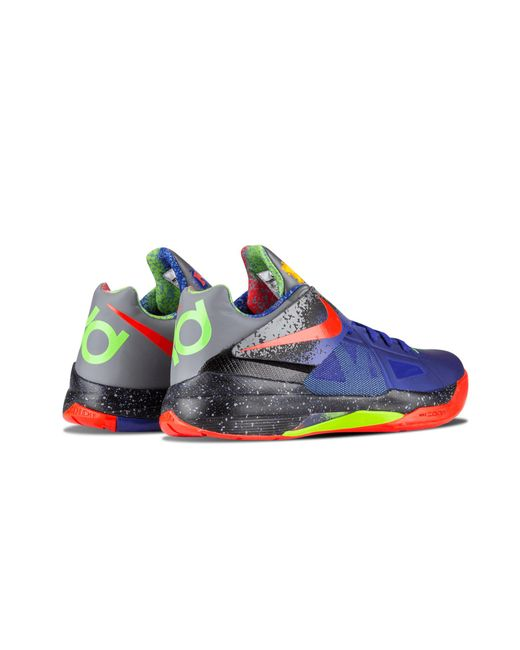 5e67b3a19088 Nike Zoom Kd 4 Concord bright Crimson  nerf  in Blue for Men - Save ...