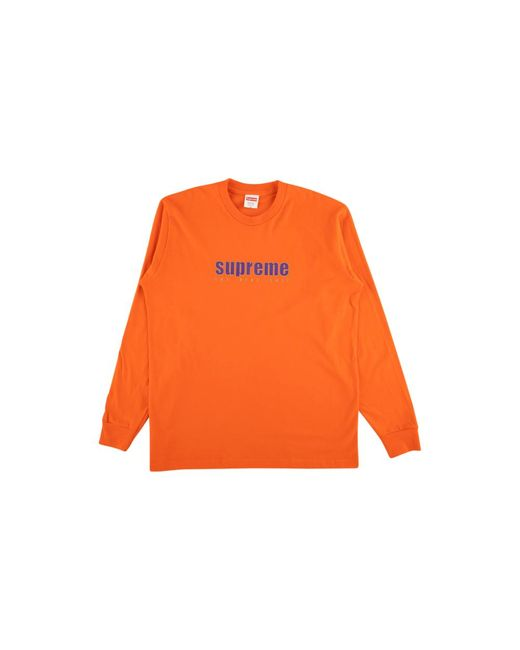 4110670a99a5 Supreme The Real Sh*t Longsleeve T-shirt 'ss 19' in Orange for Men ...