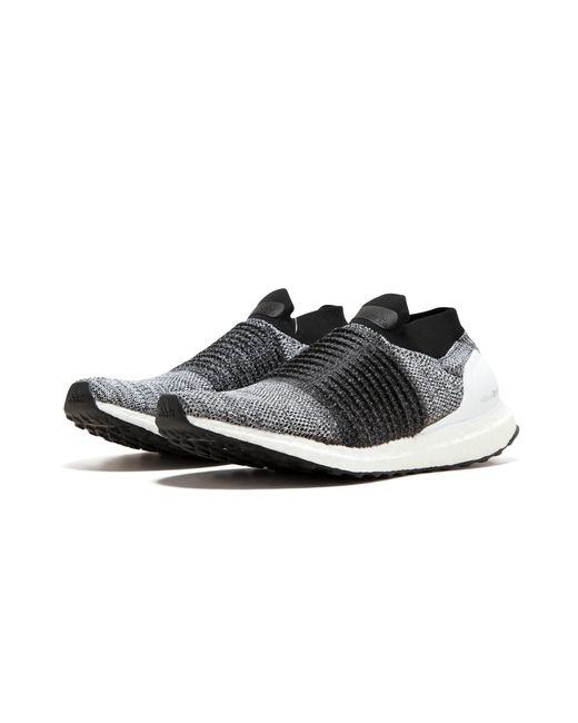 cf4d4158904 ... Adidas - Black Ultraboost Laceless for Men - Lyst ...
