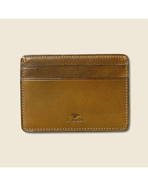 Il Bussetto | Multicolor Credit Card Case - Light Brown for Men | Lyst