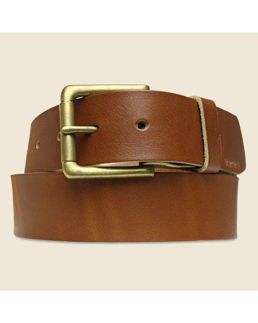 Billykirk | Brown Roller Bar Belt - Tan for Men | Lyst