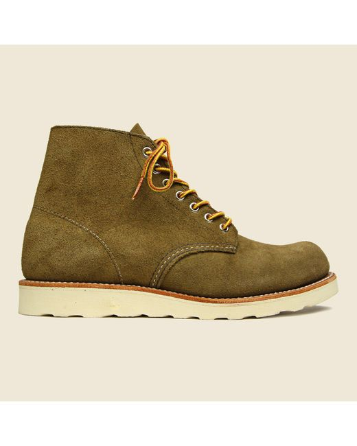 "Red Wing - Multicolor Stag Exclusive 6"" Round Toe - Olive Mohave for Men - Lyst"