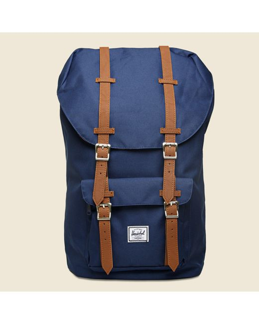 ... Herschel Supply Co. - Blue Classic Little America Backpack for Men -  Lyst ... 305a262e82