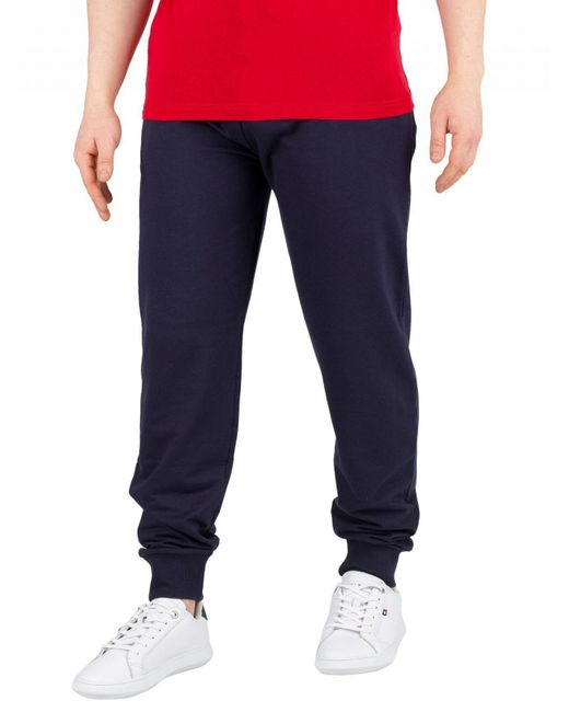 7801297f427 Tommy Hilfiger - Blue Navy Blazer Track Joggers for Men - Lyst ...