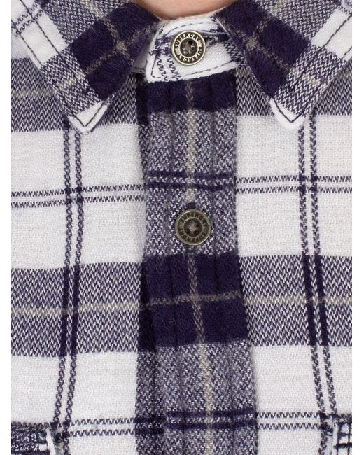 abe80f1248 ... Superdry - Broken Twill White Rookie Ridge Shirt for Men - Lyst ...