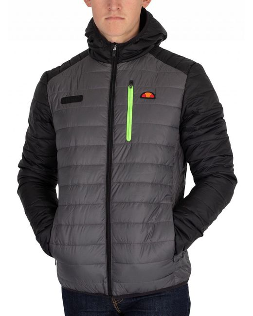 Ellesse - Gray The Tone Lombardy Jacket for Men - Lyst